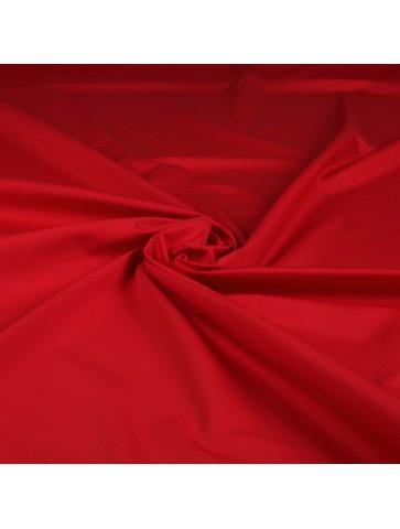 Raudona medvilnė marškiniams
