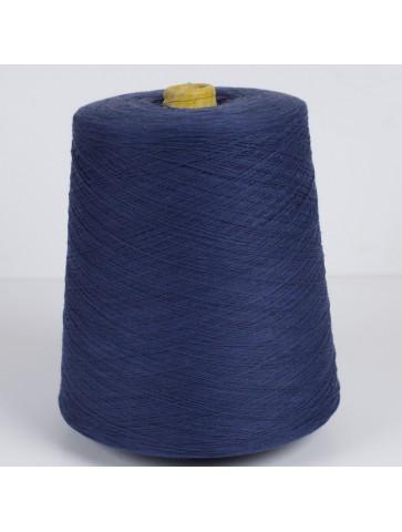 Tamsiai mėlyna medvilnė