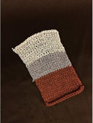 Pusvilnė stora, rankinio mezgimo siūlai