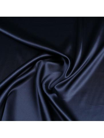 Mėlynas šilkas su elastanu