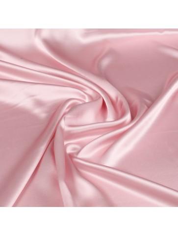 Rožinis atlasinis šilkas