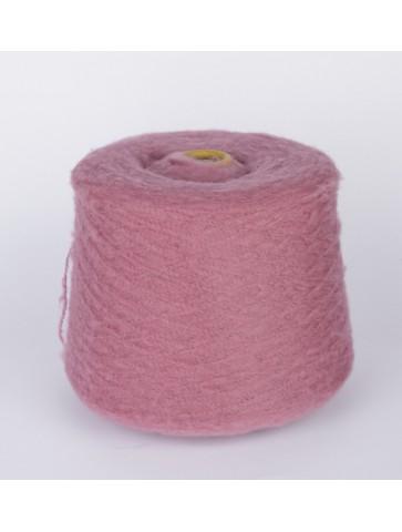 Buklė alpaka su vilna (rožinė)