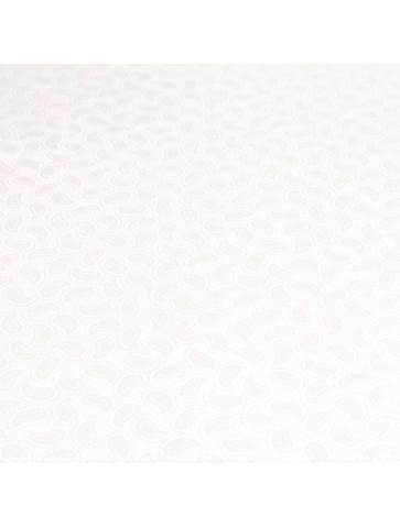 Baltas šilkas su raštu