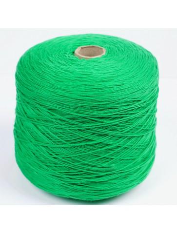 Ryškiai žalia 100% merino...