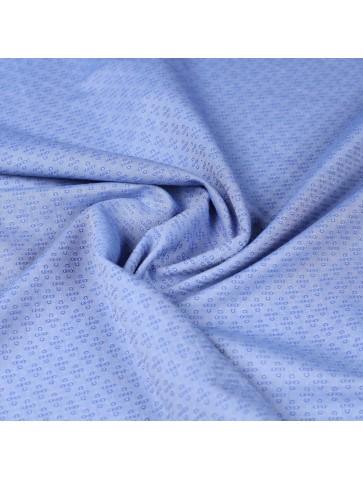 Siuvinėta marškininė medvilnė