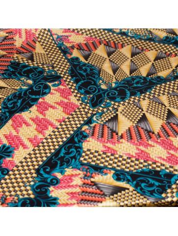 Atlasinis Versace šilkas
