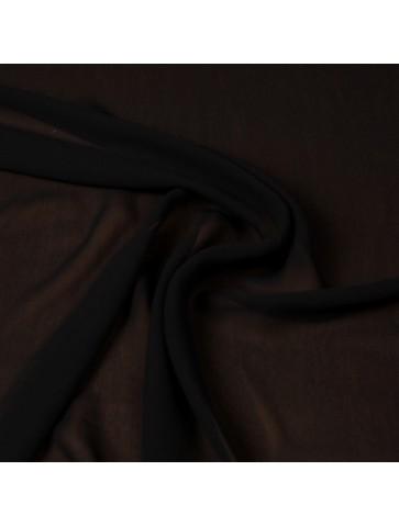 Juodas šifoninė viskozė