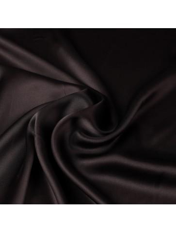 Atlasinis šilkas (juodos...