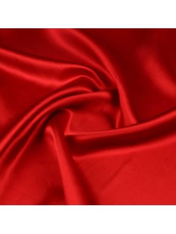 Raudonas atlasinis šilkas