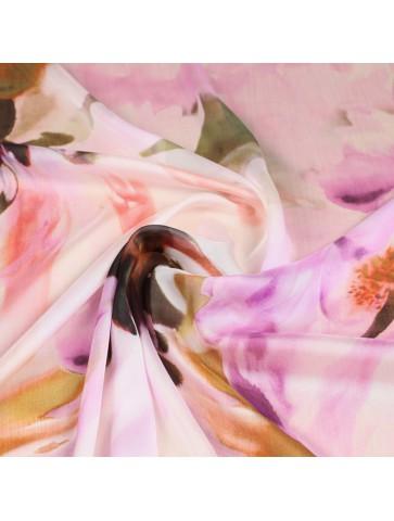 Lengvas gėlėtas šilkas