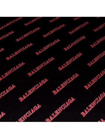 BALENCIAGA šilkas su logo