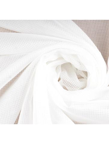 Baltos spalvos šifoninis...